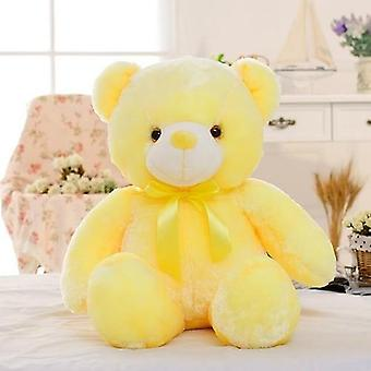 الإبداعية تضيء أدى تيدي الدب محشوة الحيوانات أفخم لعبة