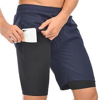 Hombres corriendo pantalones cortos ropa masculina