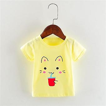 Baby Summer T-shirts, Cotton Tops
