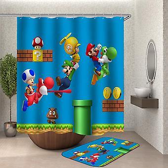 Super Mario Zasłona prysznicowa
