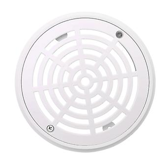 Outer Diameter 8.07 Inch Swimming Pools Drain Cover Replacement White