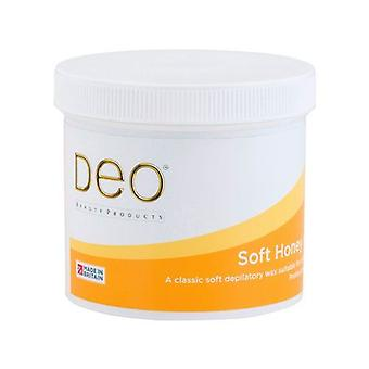 DEO Soft Honey Depilatory Wax Lotion - Natural Ingredients - 425g
