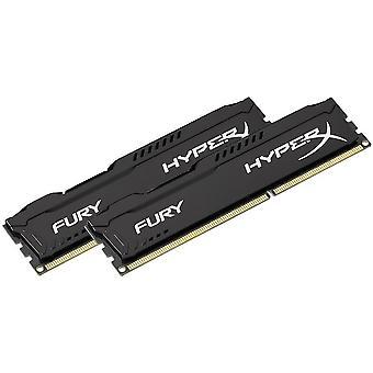 FengChun HX316C10FBK2/8 Fury Schwarz, DDR3, 8GB (Kit 2x 4 GB), 1600MHz, CL10,
