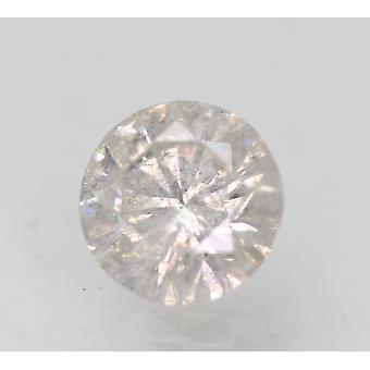 Sertifioitu 1,05 karat G SI3 pyöreä brilliant parannettu luonnollinen löysä timantti 6,52mm