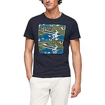 s.Oliver 130.10.012.12.130.2055972 T-paita, Sininen (5978), XXL Miehet