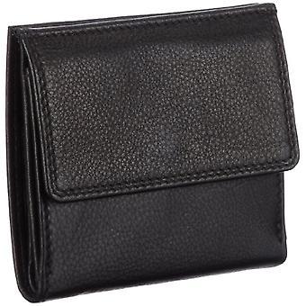 M-Collection F3 490000066, Adult Unisex Wallet, 11x10x1 cm (L x A x P), Black (Schwarz (black 900)), 11x10x1 cm (L x A x P)