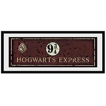 Harry Potter foto Zweinstein Express 30 x 12
