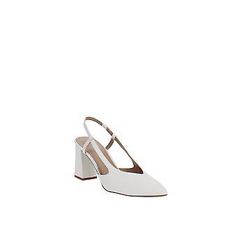 INC | Brelina Snake Ankle Slingback Heels