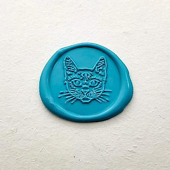 Cat Head Wax Seal Stamp - Cat Sealing Wax Stamp - Sealing Wax Stamp
