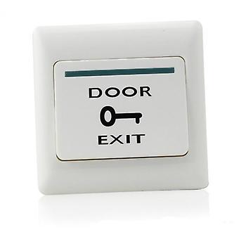 Oven ulostulopainikkeen vapautuspainike Elektronisen oven lukituksen työntökytkin