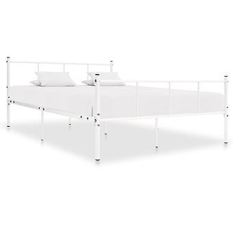 Bedframe Metallo Bianco 120X200 Cm