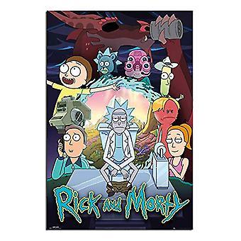 Rick und Morty Poster Saison 4 100