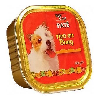 Κόκκινο δοχείο τροφής σκυλιών (300 g)