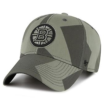 47 Brand Snapback Cap – COUNTER Boston Bruins sandalwood