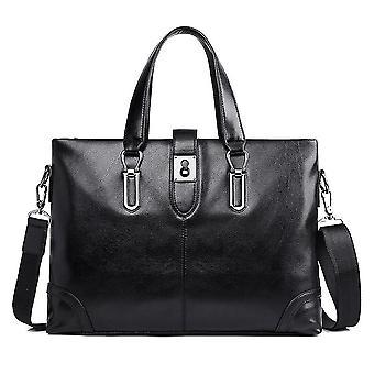 תיק יד מזוודה עסקים לגברים תיק כתף שחור