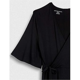 Essentials Damen Kimono Sleeve Wrap Kleid