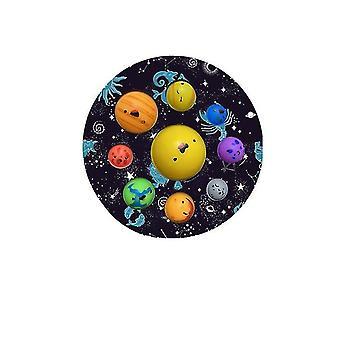Stiskněte hračky Planet, dětské vzdělávací unzip hračky (Color2)