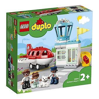 Playset Duplo Airplane & Airport Lego 10961 (28 pcs)