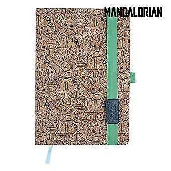 Notebook The Mandalorian Cork A5