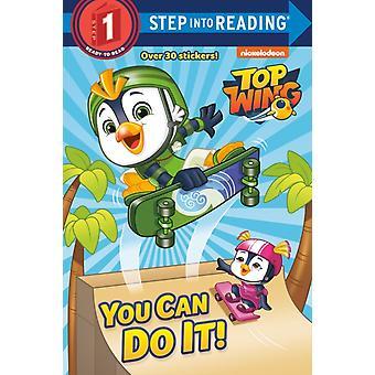 You Can Do It Top Wing door Elle Stephens & Geïllustreerd door Jason Fruchter