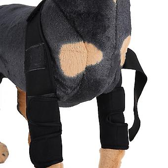 Evago Classic Style-dog Recovery Sleeve,pet Dog Front Elbow Protector Support For Aid Arthritis, Rehabilitation, Poor Stability, Joint Injuries Injure