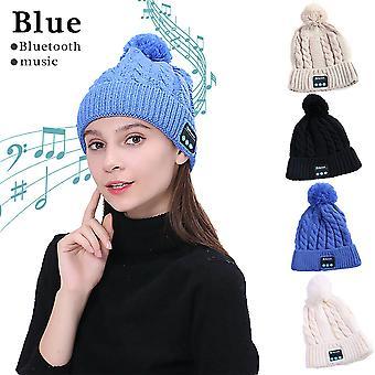 Bluetooth Hat Winter Cap Over Ear Music Handsfree Earphones Wireless Beanie Headset Headphones