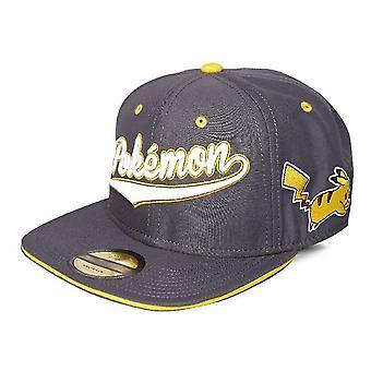 Logo élégant et casquette de baseball Pika Snapback