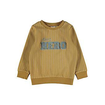 "Name-it Jongens Sweater Nicolaj ""Hero"" Cumin"
