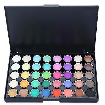 40 kleur matte oogschaduw palet glitter langdurige make-up pallet shimmer