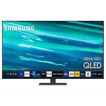 "التلفزيون الذكي سامسونج QE65Q80A 65 ""4K الترا HD QLED واي فاي"