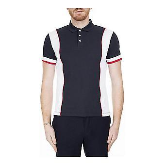Men's Short Sleeve Polo Shirt Armani Jeans  C1578 Navy