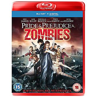 Pride & Prejudice & Zombies Blu-Ray + Digital Nedladdning