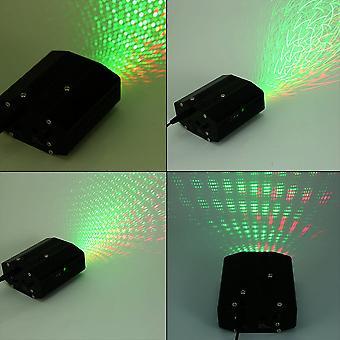 Светодиодный лазерный проектор Освещение сцены Движение Dj Disco Party Пульт дистанционного управления
