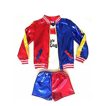 Suicide Squad Clown Girl Children's Ropa Cosplay