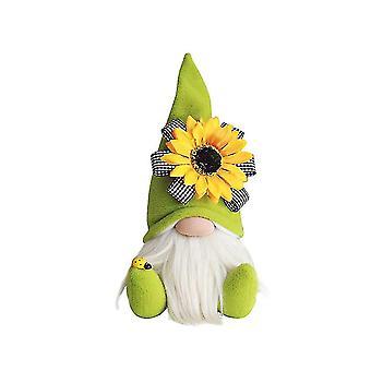 Halloween gnome speelgoed dwerg gezichtsloze zachte lumbale rug kussen gevulde speelgoed