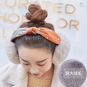 Warm Earmuff Earmuff Female Winter Lovely Student Korean Version Cycling Ear Cover Son Thickened Plush Ear Protection Cartoon Ear Warm