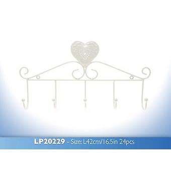 Cream Heart Hanger