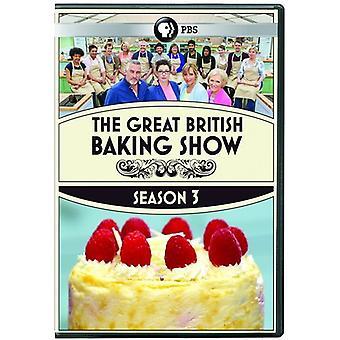 素晴らしい英国ベーキング ショー: シーズン 3 【 DVD 】 USA 輸入