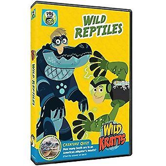 Wild Kratts: Wilde Reptilien [DVD] USA importieren