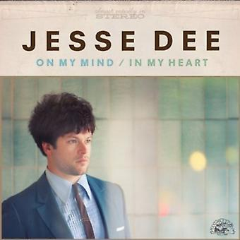 Jesse Dee - On My Mind/in My Heart [CD] USA import