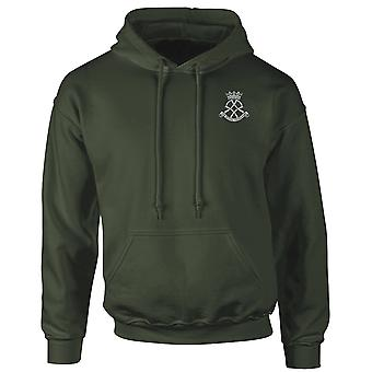 The Royal Yeomanry Embroidered Logo - Official British Army Hoodie