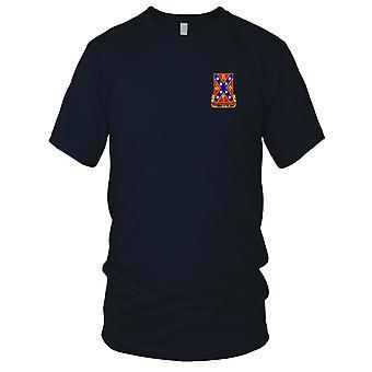 US Army - 107th Field Artillery Regiment brodé Patch - Mens T Shirt
