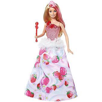 Barbie DYX28 Dreamtopia Sweetville prinsessa nukke