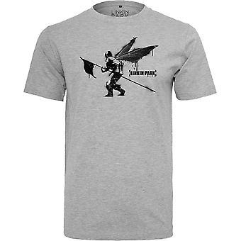 Merchcode shirt - Linkin Park Street Soldier grey