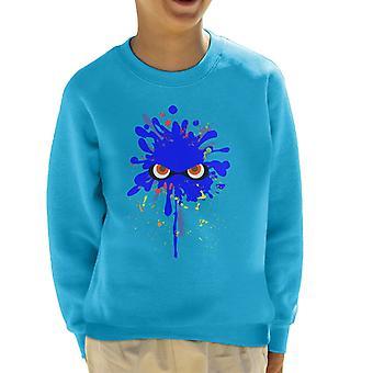 Bluza Splatoon Blue Ink Splat Kid