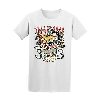 Snake Club Motorcycle Tee Men's -Image by Shutterstock