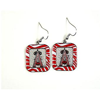 Los Angeles Angels MLB Zebra Style boucle d'oreille