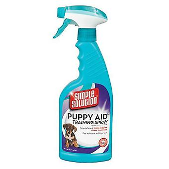 Simple solution Puppy Dog Aid Training Spray to eliminate in specific areas