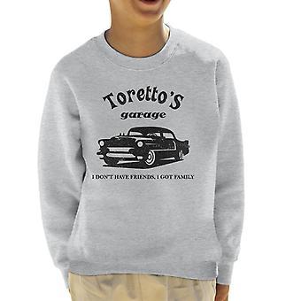 Het snel en de woedende Torettos Garage Kid's Sweatshirt