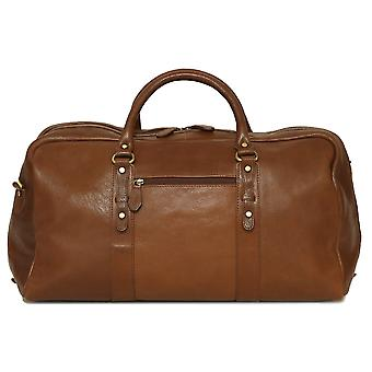Felda Genuine Leather Holdall Duffel Bag - Cabin Hand Luggage